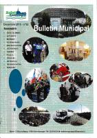 Légumes bio – Décembre 2016 – Bulletin municipal de St Genouph n°62 (extrait)