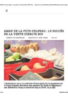 AMAP de la Fuye-Velpeau : le succès de la vente directe bio 17 01 2020